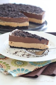 Low Carb Chocolate Peanut Butter Dirt Cake