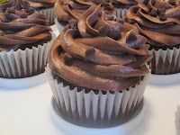Fall In Love With Cooking: Death by Chocolate Cupcakes