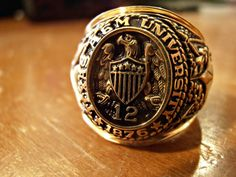 Nothing like the Aggie Ring!
