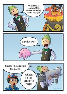 Cilan should die. In a food-related incident. Then he can see how it feels to have someone yell food jokes as he dies.