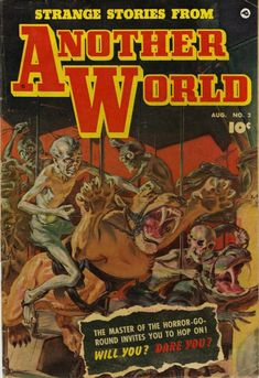 Items similar to This Magazine is Haunted Horror Comics, Golden Age books. 1952 Fawcett, GD on Etsy Sci Fi Comics, Horror Comics, Comic Book Covers, Comic Books, Creepy Guy, Scary, Pulp Magazine, Magazine Art, Magazine Covers