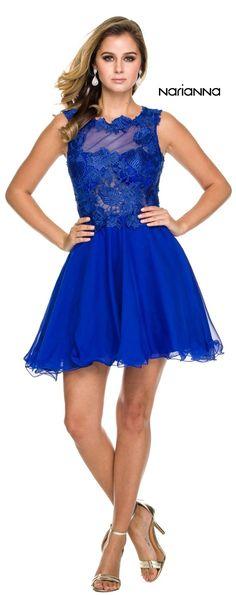Sleeveless Homecoming Lace Dress Royal Blue #discountdressshop #sleeveless #lace #homecoming #royalblue Lace Bodice, Lace Dress, Royal Blue Dresses, Chiffon Skirt, Homecoming Dresses, New Dress, Formal Dresses, Celebrity, Women's Fashion