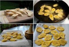Приготвя се от зелен банан и наистина е много лесно за приготвяне. Тази рецепта е типична за карибските страни, а на нас ни харесва да ви показваме рецепти от целият свят.