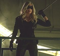 Black Canary/Sara Lance (Caity Lotz) on Arrow Season 2, Episode 5 - League of Assassins