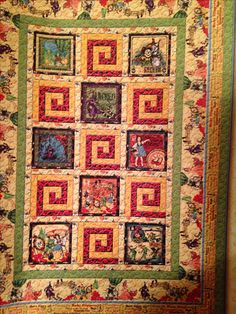 Wizard of Oz Quilt pattern I got at Prairie Quilts in Hennessy, OK that I will be making.