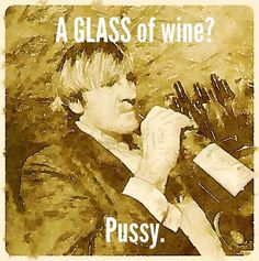 Glass of wine....#pussy