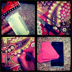 Make a Vera Bradley case for your phone