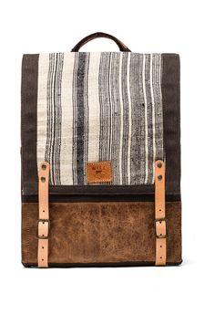 WILL Leather Goods Pha Sin Backpack em Marrom  2d354f0ec6e58