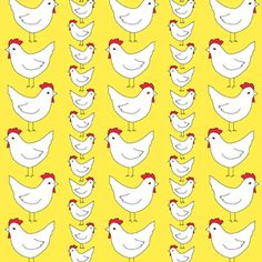 Creative Thursday - Locally Grown - Chicken Party in Yellow