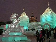 The St. Paul Winter Carnival is an annual event that takes place every January. #OnlyinMN