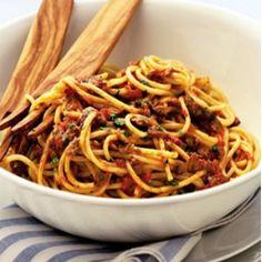 italian recipe for spaghetti