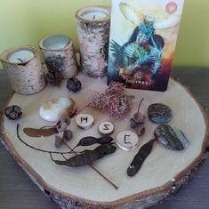 TALISMAN : LE POUVOIR DES RUNES - Tarot, Divination, Les Runes, Candle Holders, Candles, Rune Symbols, Runes Meaning, Rune Alphabet, Porta Velas