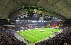 Eintracht Frankfurt Choreo Europaleague gegen Porto 27.02.2014