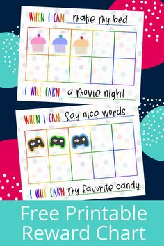 Printable Reward Chart for Kids! Free Printable Reward Chart Template, use as sticker chart for kids behavior to earn incentives! Printable potty chart with rewards. Use for kids of all ages as a behavior chart at home. Free printable with reward system ideas for kids! Visual Sticker Chart for simple Routines for at home positive reinforcement! Positive individual behavior chart for individuals at home or in classrooms #behaviorchart #rewardsystem #stickerchart Behavior Sticker Chart, School Behavior Chart, Sticker Chart Printable, Positive Behavior Chart, Good Behavior Chart, Free Printable Behavior Chart, Behaviour Chart, Kids Behavior, Free Printables