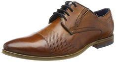 Toller Halbschuh!  Schuhe & Handtaschen, Schuhe, Herren, Schnürhalbschuhe Derby, Men Dress, Dress Shoes, Bugatti, Oxford Shoes, Lace Up, Fashion, Leather Booties, Loafers
