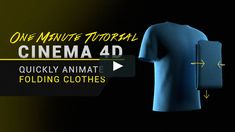 This is a very quick technique for unfolding clothes inside of Cinema 4D using the Morph, Bend, and Jiggle deformers without the need for lengthy cloth simulations.