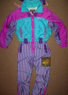 58809f9d59 1000+ ideas about Vintage 80s One Piece Ski Suit Light Purple Pink .