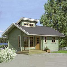 sqm-Green-Wooden-House-green-for-Garden.jpg (582×582)