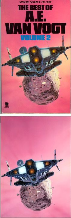 PETER ELSON - The Best of A.E.Van Vogt Vol. 2 by A.E.Van Vogt - 1979 Sphere Books - print/cover by icshi.net