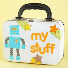 Robot Treasure Box