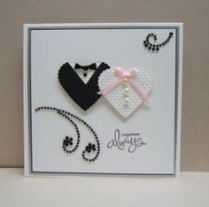 Wedding card by Ilse