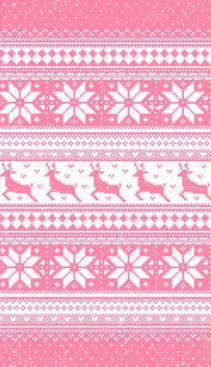 Afbeelding via We Heart It #christmas #colour #colourful #colours #edit #nordic #pattern #patterns #sweater #wallpaper #winter #fairisle #alpineski #pinkedit