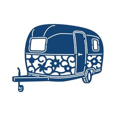 Tattered Lace - Dies - Camper Trailer