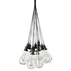 Glazen hanglamp, diameter 45 cm, DIDEROT | Maisons du Monde