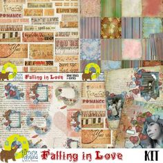 Digital Art :: Kits :: Falling in Love - kit