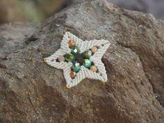 Helping Hands, Starfish, Macrame, Objects, Brooch, Jewelry, Jewellery Making, Jewerly, Jewelery