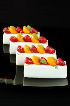 White Chocolate Mousse with Jasmine