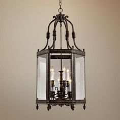 """For in the turret if Tab doesn't get by teacup light done  Windsor Collection Vintage Bronze 18"""" Wide Pendant Light"""