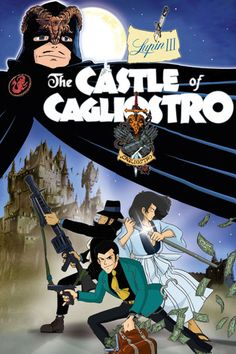 hayao miyazaki movie posters | Lupin the Third: The Castle of Cagliostro 1979 HD ...