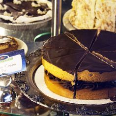 Happy National Boston Cream Pie Day! Our Boston Cream Pie is #vegan and currently our #glutenfree cake of the week is also a Boston Cream Pie...so everyone can celebrate this delicious holiday! #veggiegalaxy #veganbakery #nationalbostoncreampieday #bostonvegan #bostonveg #bostonvegans #bostoneats #eater #bostonfood #bostonfoodie #bostonfoodies #veganboston #BVFF2015 #cambma #cambridgema #centralsquare by veggiegalaxy October 23 2015 at 03:01AM