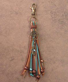 Leather Keychain, Leather Earrings, Leather Jewelry, Skull Jewelry, Tribal Jewelry, Jewlery, Handmade Keychains, Leather Bag Pattern, Leather Flowers