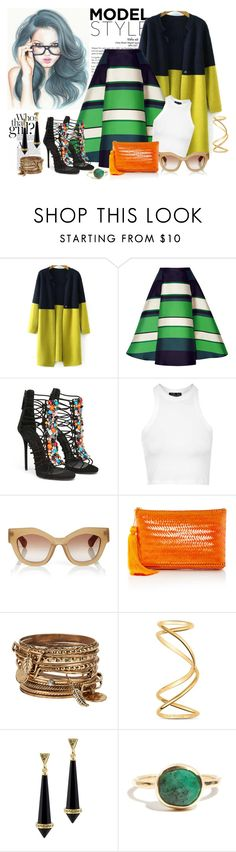 """""""chic"""" by mr-1 ❤ liked on Polyvore featuring Lanvin, Topshop, Jonathan Saunders, Kayu, ALDO, Maison Margiela, House of Harlow 1960, women's clothing, women's fashion and women"""