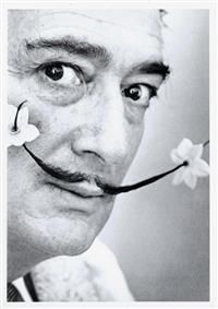 #Halsman, P. Portrait von Salvador #Dalí. Silbergelatineabzug. 1954. # Photography #Photographie #Koller #Auktionen #Auctions #Zurich #Switzerland