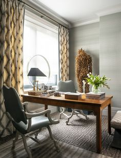 Kips Bay: A Study In Style - Den - Study - Office - TF Home for Vanguard Furniture