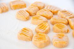 Butternuss Gnocchi mit cremiger Kartoffel-Sauce glutenfrei & vegan