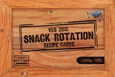 VBS 2015 Fun Facts - About Snacks!