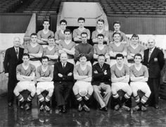 Manchester United team photo, 1st April 1957. #MUFC #FlowersOfManchester