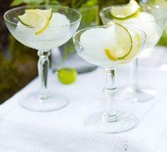 gelado de gin tónico para animar o seu domingo
