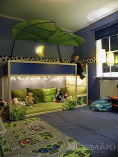Cool Ikea Kura Beds Ideas For Your Kids Room14