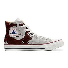 Scarpe Converse All Star personalizzate (Prodotto Artigianale) El Che - TG41 - http://on-line-kaufen.de/make-your-shoes/41-eu-converse-all-star-personalisierte-schuhe-el