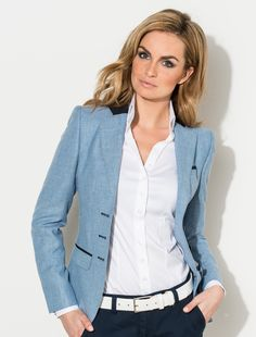 Klassiek Business Outfits, Office Outfits, Business Fashion, Stylish Outfits, Suit Fashion, Daily Fashion, Fashion Dresses, Womens Fashion, Romeo Und Julia