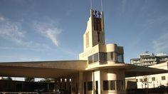 Fiat Tagliero Building in Asmara, Eritrea