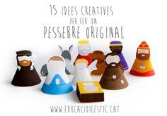 15 idees creatives per fer un pessebre original