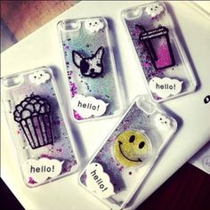 Final sale! iPhone 6 6s case Cute glitter beads Brand new! Available in smily face, popcorn, and coke. 13 Accessories