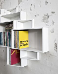 SheLLf Bookcase by Kristalia - Via Designresource.co