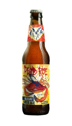 This grassy-hopped brew is seasoned with the savory crab-boil staple, making it a bold but welcome departure from summer's easy-drinking citrus suds. Best Summer Beers, Beers Of The World, Beer Recipes, Brew Pub, Flying Dog, Crab Boil, Pub Food, Beer Packaging, Esquire